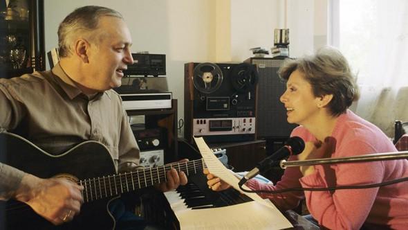 Сергей Яковлевич и Татьяна Хашимовна Никитины, 1991 год
