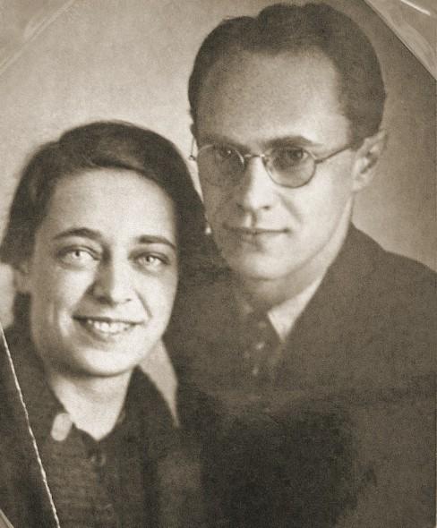 Ариадна Эфрон и Иосиф Гордон. Москва, 1937 год