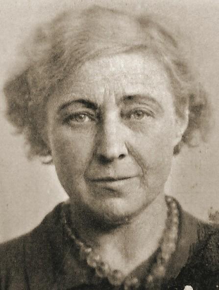 Паспортная фотография Марины Цветаевой. Париж, 1939 год
