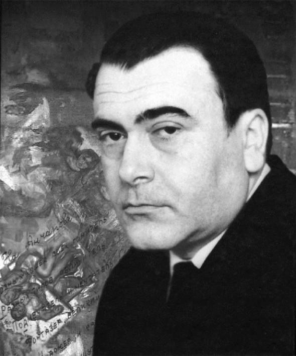 Михаил Анчаров. Портрет 1970 года.
