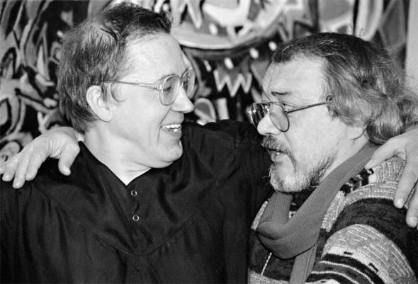 Геннадий Жуков и Виктор Луферов