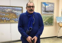 Известный в России бард дал концерт в Южно-Сахалинске