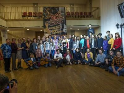 В Мурманске прошел фестиваль авторской песни «Маленький фонарщик»